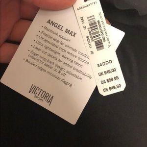 Victoria's Secret Tops - New Victoria's Secret Angel max sports bra, black